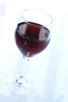 Free Glass Of Redwine Stock Photography - 3632382