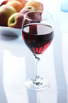 Free Glass Of Redwine Royalty Free Stock Photography - 3632407