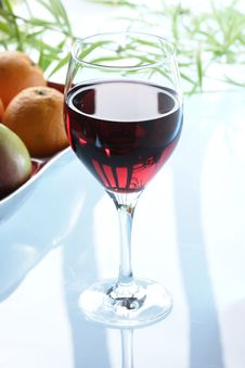 Free Glass Of Redwine Stock Image - 3632421