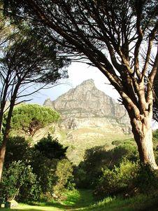 Free Portal To The Mountain Stock Image - 3632641