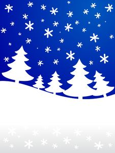 Free Winter Background. [Vector] Stock Photo - 3633710