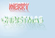Free Merry Christmas Snow Stock Images - 3633724