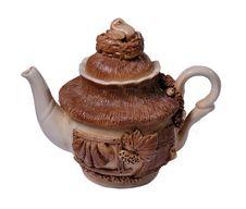 Free Teapot Isolated On White Stock Photo - 3634430