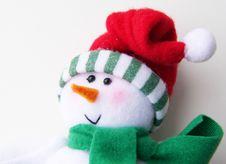 Free Snowman Stock Image - 3634811