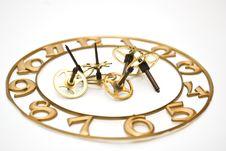Clock-face Pinion Royalty Free Stock Photos