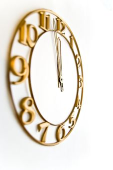 Free Clock Face Royalty Free Stock Photo - 3635105