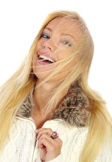 Free Beautiful Happy Blonde Stock Photo - 3635140