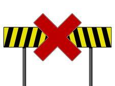 Warning Sign Royalty Free Stock Image