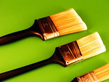 Free Paintbrushes 2 Royalty Free Stock Photos - 3636138