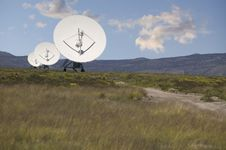 Radio Telescopes Royalty Free Stock Photography