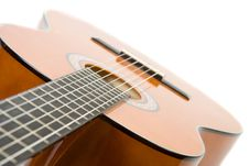 Free Clouse-up Acoustic Guitar. Royalty Free Stock Images - 3637839