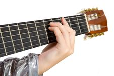 Free Clouse-up Acoustic Guitar. Stock Image - 3637861