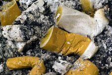 Free Cigarette Butt Stock Image - 3638071