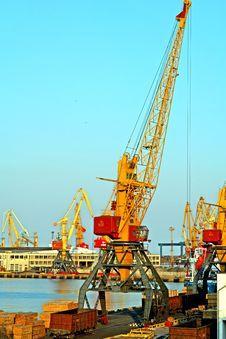 Free Loading Cranes Stock Photo - 3638710