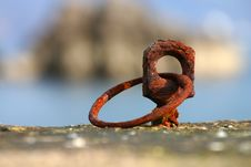 Free Rusty Tie Up Royalty Free Stock Photography - 3639087
