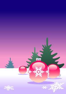 Free Christmas Tree Balls Stock Photo - 3639700