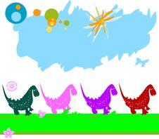 Free Dinosaurs Royalty Free Stock Image - 3639736