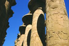 Free Philae Temple Colums Royalty Free Stock Photos - 3639868