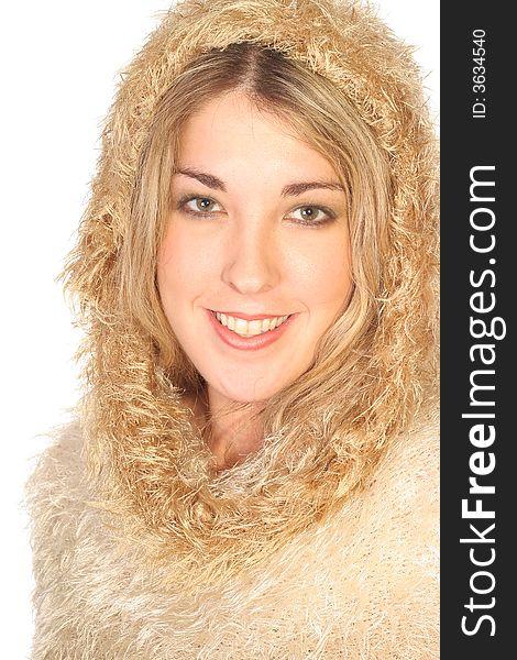 Gorgeous Winter woman