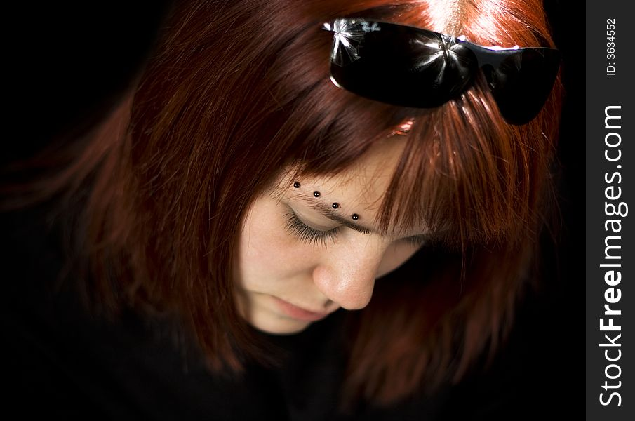 Sad Girl Looking Down Free Stock Images Photos 3634552