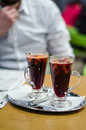 Free Man With Mulled Wine Royalty Free Stock Photo - 36301245