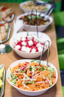 Salad Buffet Royalty Free Stock Photo