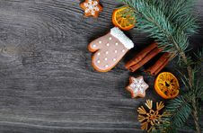 Free Christmas Cookies Stock Images - 36302044