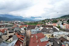 Free Townscape Of Innsbruck Stock Photo - 36307350