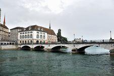 Free Townscape Of Zurich, Switzerland. Stock Photos - 36307353