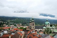 Free Townscape Of Innsbruck Royalty Free Stock Images - 36307359