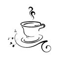 Free Coffee Cup Vector Illustration Royalty Free Stock Photos - 36317018