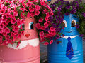 Free Street With Flower Pot Royalty Free Stock Photos - 36317858