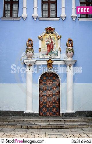 Free Entrance Door Of The Orthodox Church Stock Photos - 36316963
