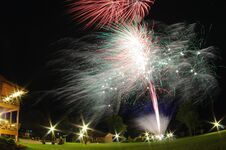 Free Fireworks Royalty Free Stock Photography - 36312687