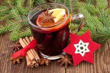 Free Winter Hot Wine Stock Photo - 36314410