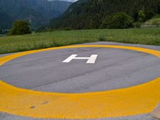 Free Helicopter Landing Pad Helipad Stock Photos - 36315023