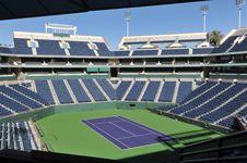 Free Indian Wells Tennis Garden Center Court Stock Images - 36318004