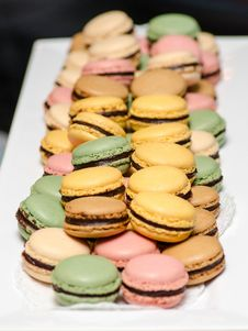Free French Macarons Stock Images - 36319414