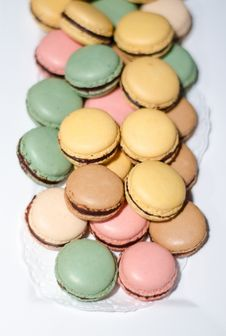 Free Macarons Stock Photos - 36319423