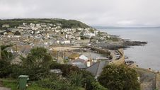 View Of Mousehole Cornwall England Stock Photography