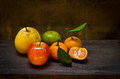 Free Fresh Fruits On An Old Wood Chair,still Life Royalty Free Stock Photo - 36326925