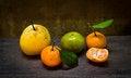 Free Fresh Orange And Pear Stock Image - 36326991