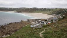Free Sennen Cove Cornwall Near Lands End Royalty Free Stock Images - 36323069