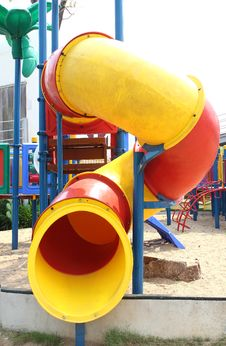 Free Colorful Children S Playground In Suburban Area Royalty Free Stock Images - 36326209