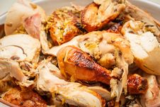 Free Grilled Chicken Royalty Free Stock Image - 36328186