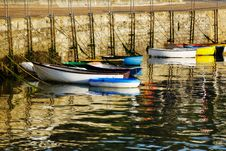 Row-Boats ~ Ready And Waiting Stock Photos