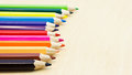Free Coloured Short Pencils Stock Photography - 36330092