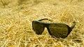 Free Sunglasses On Grass Stock Image - 36332051