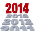 Free 2014 Arrives Stock Images - 36335394