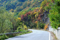 Free Twisted Road In The Mountains In The Fall Royalty Free Stock Images - 36338029